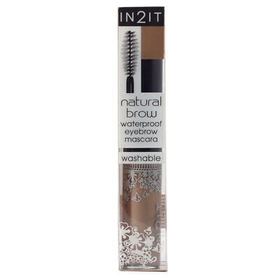IN2IT Natural Brow Waterproof Easy to Remove Eyebrow Mascara Pro Makeup Mascara