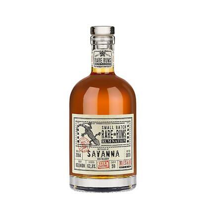 "rhum nation ""Rare Rums""  Savanna  réunion ""Traditionnel"" 2004 2019 62.8% 70 cl"