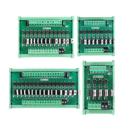 IO Card PLC Signal Amplifier Board NPN to PNP Mutual Input Optocoupler