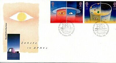 GB - FIRST DAY COVER - FDC - Commems -1991 - Europe in Space - U/A pmk PB