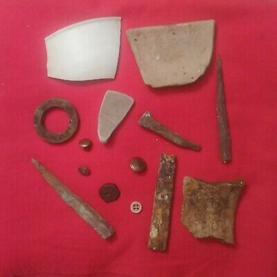 Port Royal Recovered Tavern/Brothel 1600 Artifacts