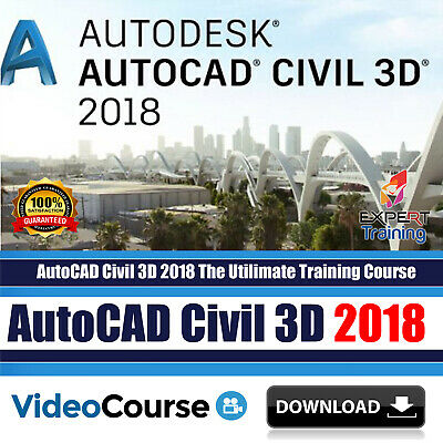 AutoCAD Civil 3D 2018 The Ultimate Video Training Course DOWNLOAD