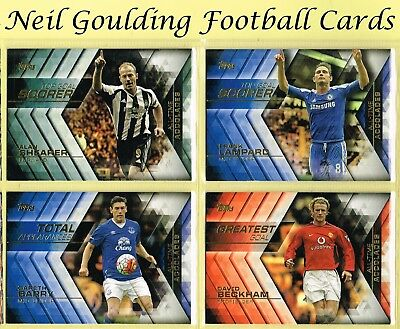 Topps PREMIER GOLD 2015 ☆ ALL-TIME ACCOLADES ☆ Football Cards #AA1 to #AA20