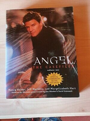 Angel/Buffy the vampire slayer books Angel the case files