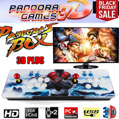 Pandora's Box 3D Plus 2400 in 1 Video Games Retro Arcade Console HD Support TV