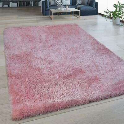 Baby Pink Rug Washable Soft Pile