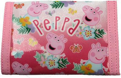Trade Mark Collections PEPPA PIG WALLET Kids Accessories Purse BN