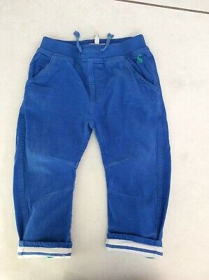 Joules Baby Boys Cordouroy Trousers Blue 12-18M