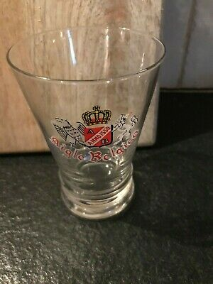 Aigle Belgica glas verre beer glass little not new