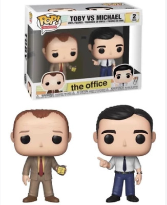 Funko! Pop Vinyl Figurine Toby Flenderson vs Michael Scott 2-pack - The Office