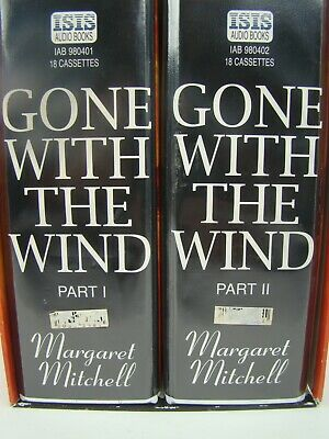 Gone with the Wind - 36 Cassette Audio Book