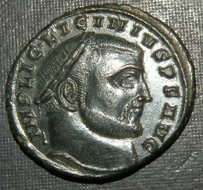 Ancient Roman Coin Licinius I Caesar 308-324 AD Antique Silvered? Bronze UNC Lot