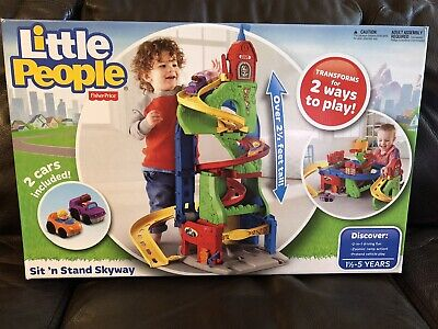 Sit N Stand Skyway Little People Fisher Price Over 2 Feet Tall DFT71