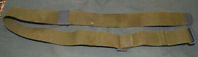 1 Post-WWII DANISH GI M1 Garand Canvas Rifle Sling, unissued with cleaning kit