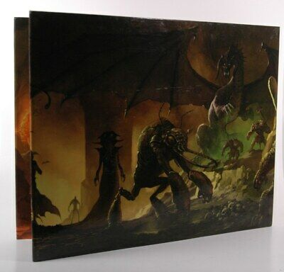 Dungeons & Dragons D&D 4th Edition Dungeon Master's Screen  D&D 4e