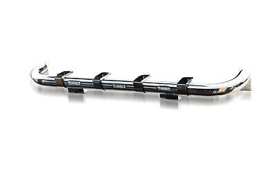To Fit Mercedes Axor Truck Spot Light Stainless Front Roof Bar + White LEDs