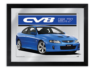 Bar Mirror Suit Dark Blue Holden Monaro Cv8 Fan Other Colour Available