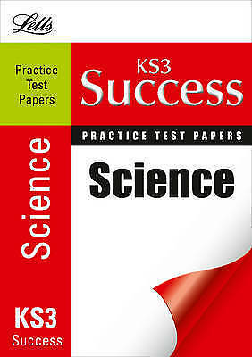 Letts Key Stage 3 Practice Test Papers - Science by Jackie Clegg, Good Used Book