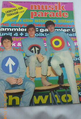 Musik Parade Nr.2 vom 17.1.1966 The Who, Rolling Stones, Beatles, Elvis