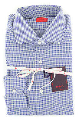 354 $475 Isaia Pink Other Cotton Shirt Slim