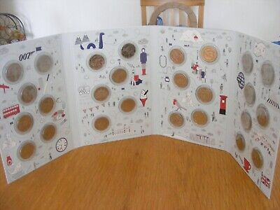 2018 FULL SET 26 A-Z ALPHABET, uncirculated 10p coins with ORIGINAL ALBUM