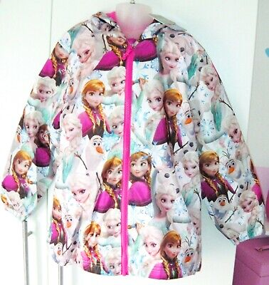 Bnwt Girls Next Frozen Coat 9 Yrs 8-9 New Elsa Anna Olaf Jacket Summer Holiday