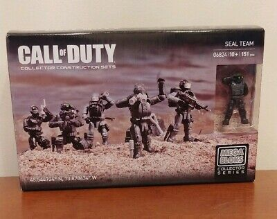 Mega Bloks Call of Duty Seal Specialist Collector Construction Set CNG72