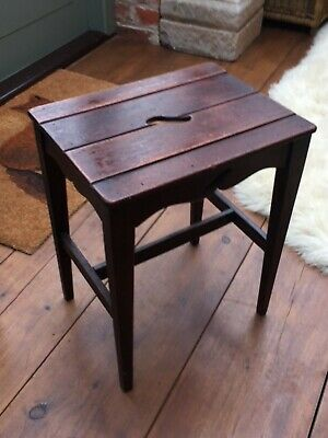 Arts and Crafts wooden styled side table