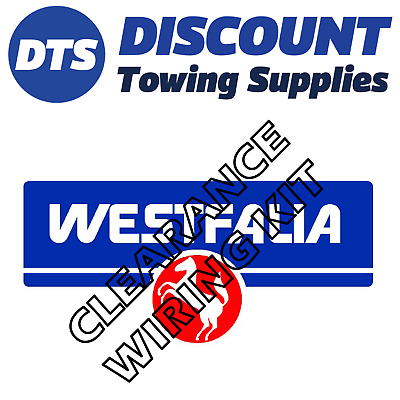 Clearance Westfalia 13 Pin Dedicated Wiring Kit FORD MONDEO Estate 2007 - 2014