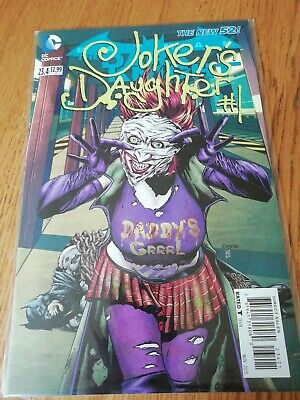 Joker's Daughter 2D Not 3D Dc 2013 Nm
