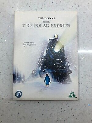 The Polar Express - new and sealed Region 2 DVD Watched Once Clean Disk