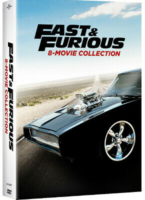 Fast & Furious 8-Movie Collection DVD