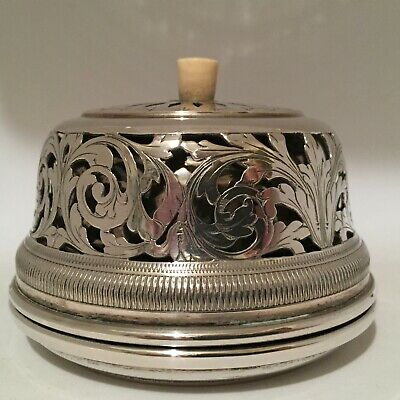 Magnificent Hotel Reception Desk Counter Solid Silver Bell