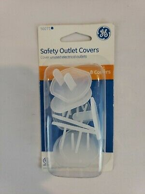 8 GE Outlet Safety Covers 50271 - New - Free Shipping