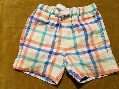 Baby boy Seed heritage cotton striped shorts size 0 6 months