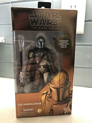 "Star Wars Black Series The Mandalorian Carbonized 6"" Figure Target Exclusive #94"
