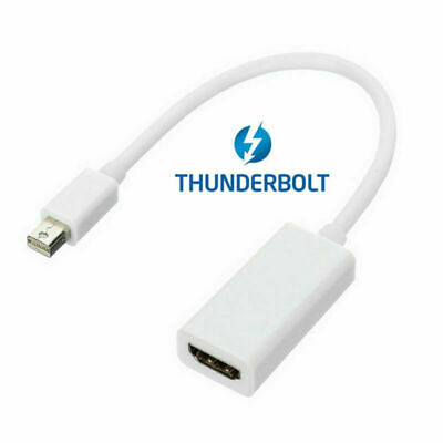 Xiwai Thunderbolt Port to HDMI Female Adapter Cable with Audio for MacBook