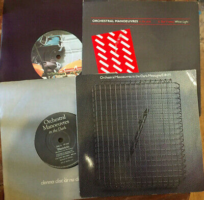 """Orchestral Manoeuvres In The Dark - collection of 4 (four) 7"""" vinyl singles"""