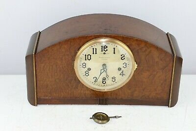 Antique The New Haven Clock Co Orleans 8-Day Westminster Chime Mantel Clock
