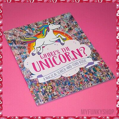 Where's The Unicorn? Book - Lovely Book!!