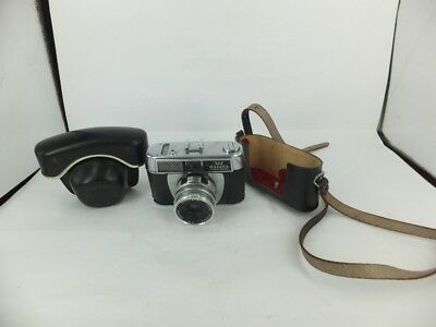 Halina vintage 35mm camera with case