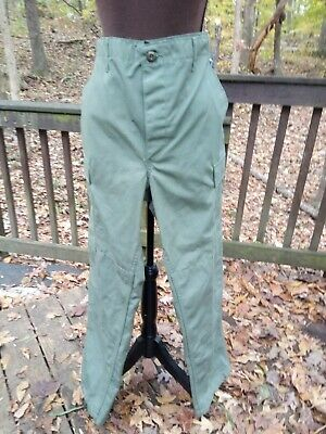 Olive Green PROPPER Combat Trousers, Size Med. Regular, 100% Cotton, Button Fly