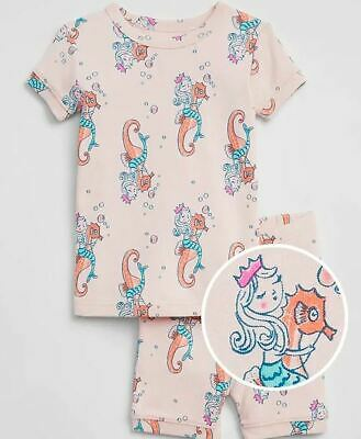 GAP BABY GIRL FLORAL SHORT SLEEP SET PAJAMAS NWT 3T 4T 5T N8N5 NNN