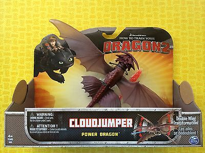 How To Train Your Dragon 2 Cloudjumper Power Dragon Large Action Figure
