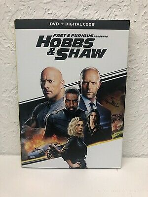 Fast And Furious Presents HOBBS & SHAW DVD + Digital Beware of Fakes w/o Digital