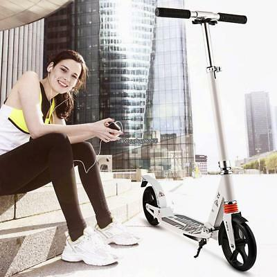 Folding Kick Scooter Big Wheel Adjustable Ride Exercise Outdoor Kid Adult Sport