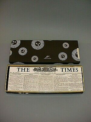 Fornasetti Milano Limited Edt Wood And Metal The Times Trinket Box New