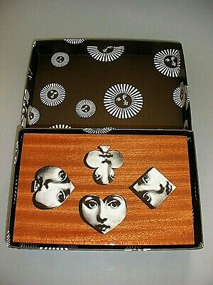 Fornasetti Milano Limited Edt Box 2 Decks Playing Cards & Poker Set Brand New