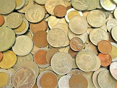 Bulk Lot 400 grams world silver aprox 100 assorted silver coins