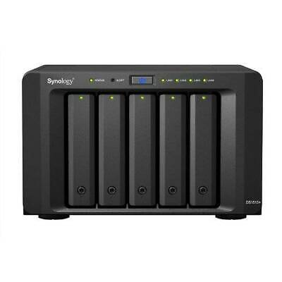 Synology DS1513+ DiskStation 5 Bay Scalable NAS, 4x Gigabit LAN Network Storage